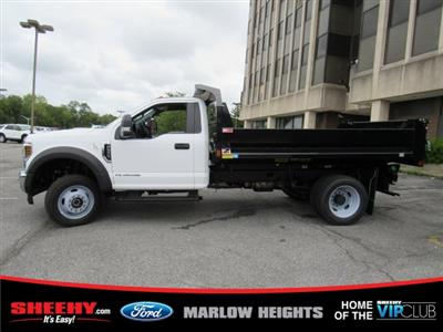 2019 F-550 Regular Cab DRW 4x4,  Monroe MTE-Zee Dump Body #BA19601 - photo 7