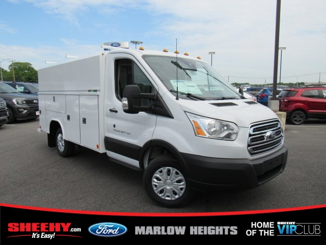 2019 Transit 350 4x2,  Reading Aluminum CSV Service Utility Van #BA63383 - photo 1