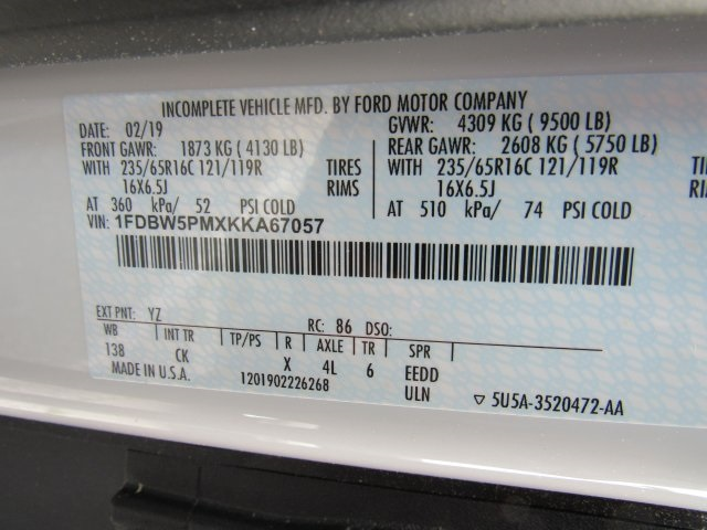 2019 Transit 350 4x2,  Reading Aluminum CSV Service Utility Van #BA67057 - photo 31