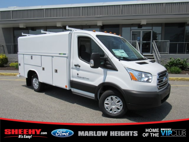 2019 Transit 350 4x2,  Reading Aluminum CSV Service Utility Van #BA67058 - photo 4