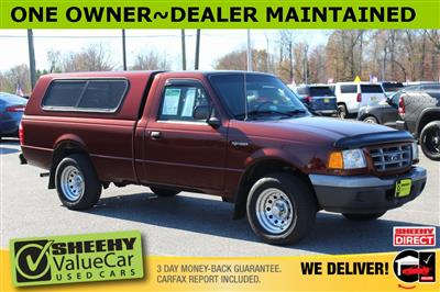 2002 Ford Ranger Regular Cab 4x2, Pickup #BA78887A - photo 1