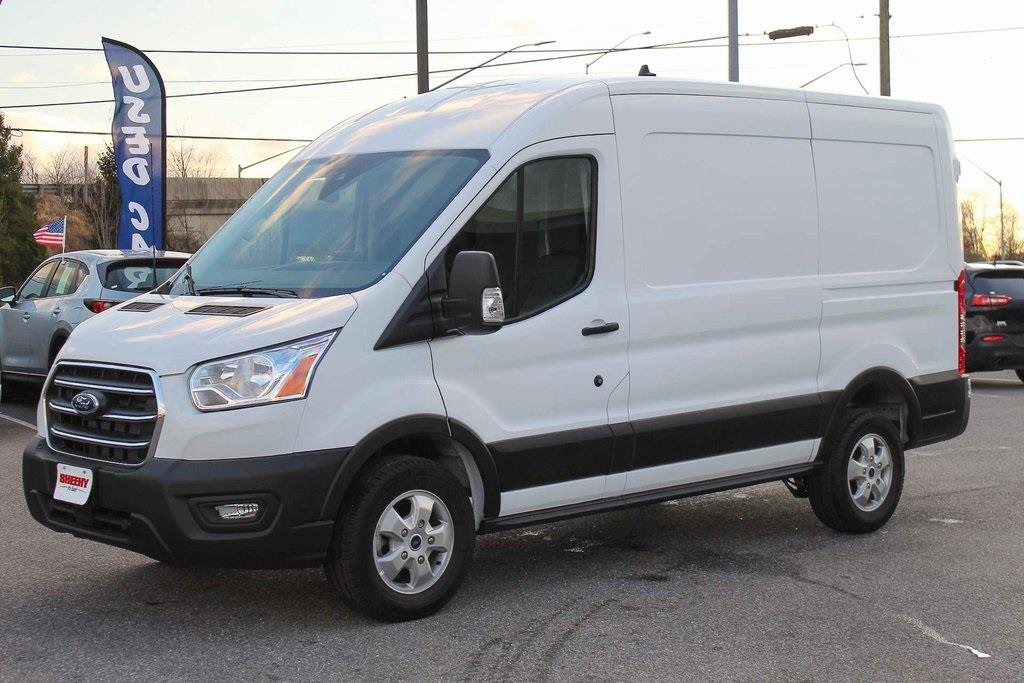 2020 Ford Transit 250 Med Roof 4x2, Empty Cargo Van #BB15917 - photo 3