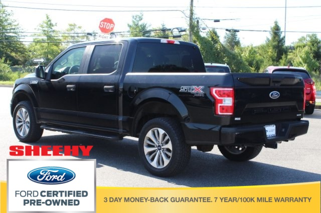 2018 F-150 SuperCrew Cab 4x4,  Pickup #BB25543A - photo 6