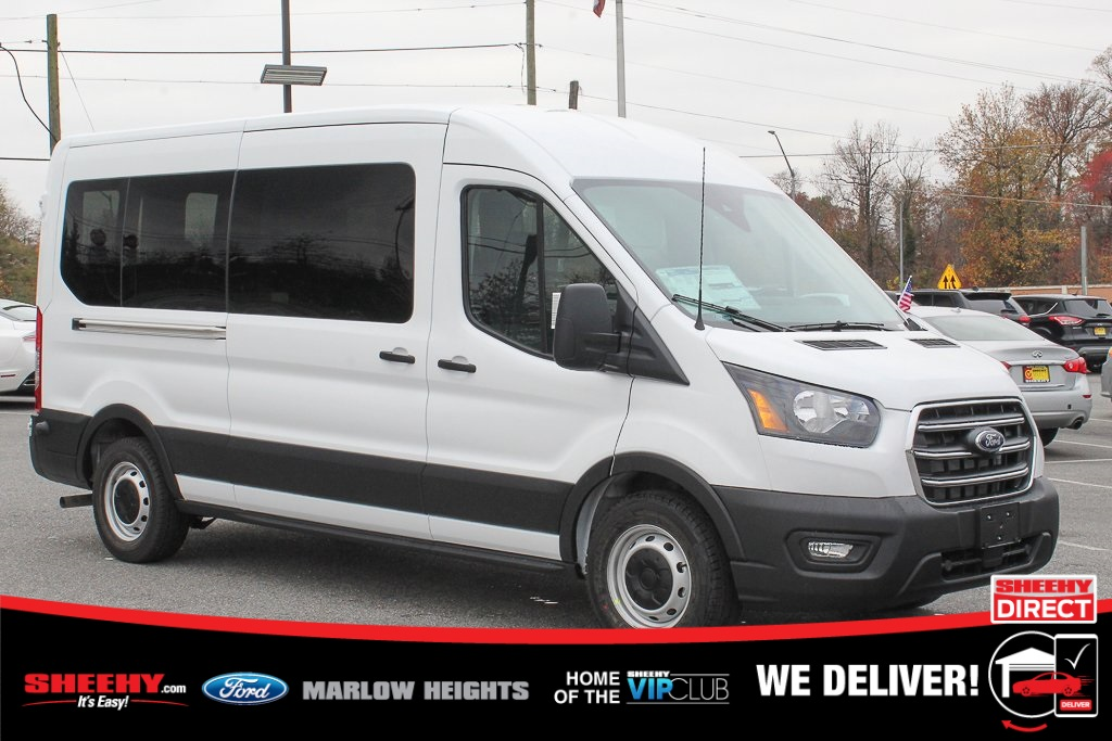 2020 Ford Transit 350 Med Roof 4x2, Passenger Wagon #BB51672 - photo 1