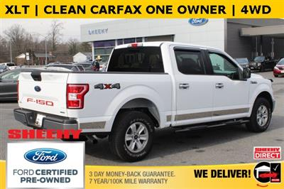 2018 F-150 SuperCrew Cab 4x4, Pickup #BC03763A - photo 2
