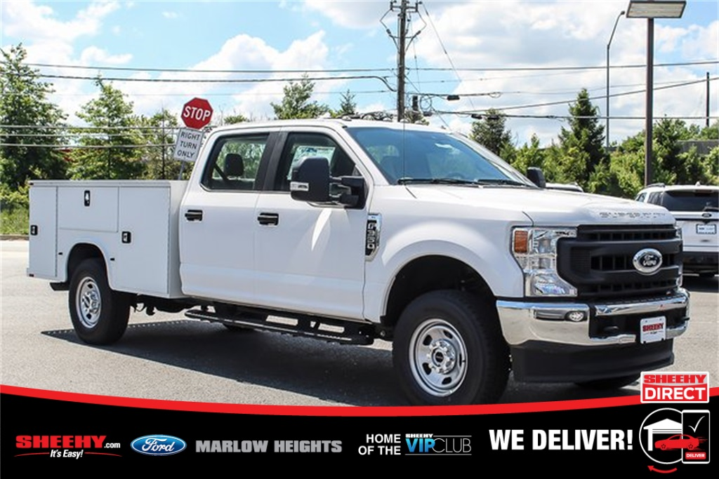 2020 Ford F-350 Crew Cab 4x4, Knapheide Service Body #BC25060 - photo 1