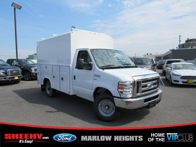 2019 E-350 4x2,  Reading Aluminum CSV Service Utility Van #BC31660 - photo 3