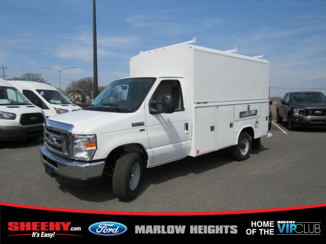 2019 E-350 4x2,  Reading Service Utility Van #BC31660 - photo 1