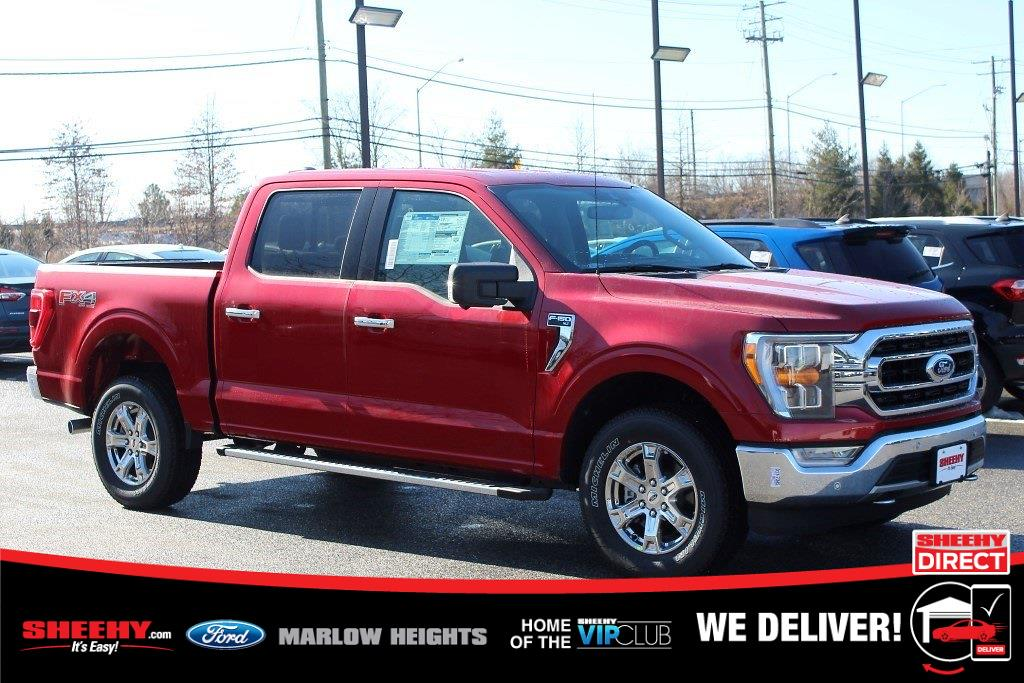 2021 Ford F-150 SuperCrew Cab 4x4, Pickup #BD31033 - photo 1