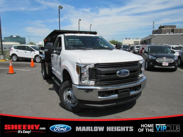 2019 F-350 Regular Cab DRW 4x4,  Monroe MTE-Zee Dump Body #BD72817 - photo 4