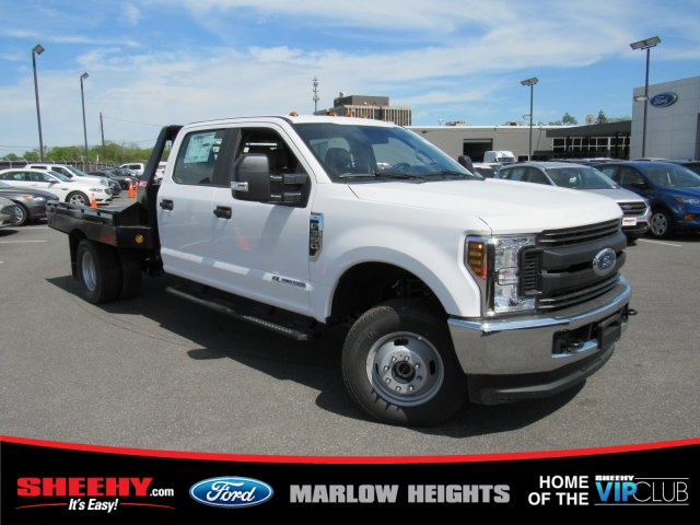 2019 F-350 Crew Cab DRW 4x4,  Hillsboro GII Steel Platform Body #BE28613 - photo 3