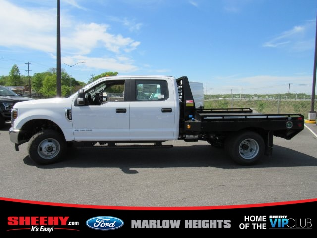 2019 F-350 Crew Cab DRW 4x4,  Hillsboro GII Steel Platform Body #BE28613 - photo 7