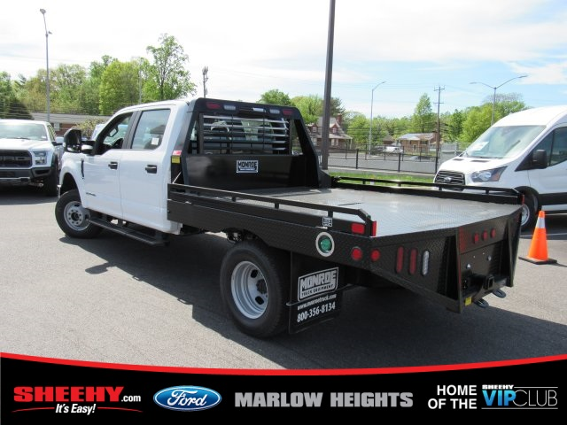 2019 F-350 Crew Cab DRW 4x4,  Hillsboro GII Steel Platform Body #BE28613 - photo 2