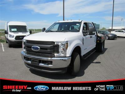 2019 F-350 Crew Cab DRW 4x4,  Hillsboro GII Steel Platform Body #BE28613 - photo 1