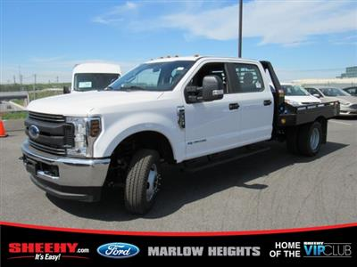 2019 F-350 Crew Cab DRW 4x4,  Hillsboro GII Steel Platform Body #BE28613 - photo 6