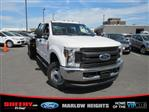 2019 F-350 Crew Cab DRW 4x4,  Hillsboro GII Steel Platform Body #BE28613 - photo 4
