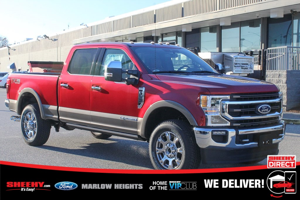 2020 Ford F-350 Crew Cab 4x4, Pickup #BE58021 - photo 1