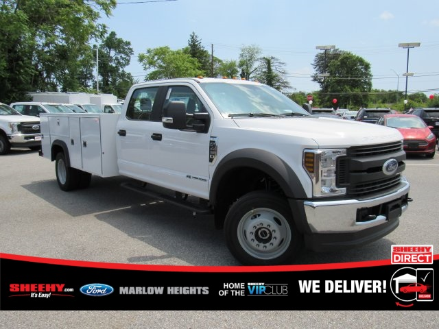 2019 F-450 Crew Cab DRW 4x4,  Monroe MSS II Service Body #BE60694 - photo 3