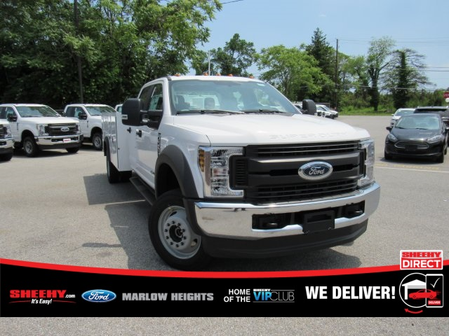 2019 F-450 Crew Cab DRW 4x4,  Monroe MSS II Service Body #BE60694 - photo 4