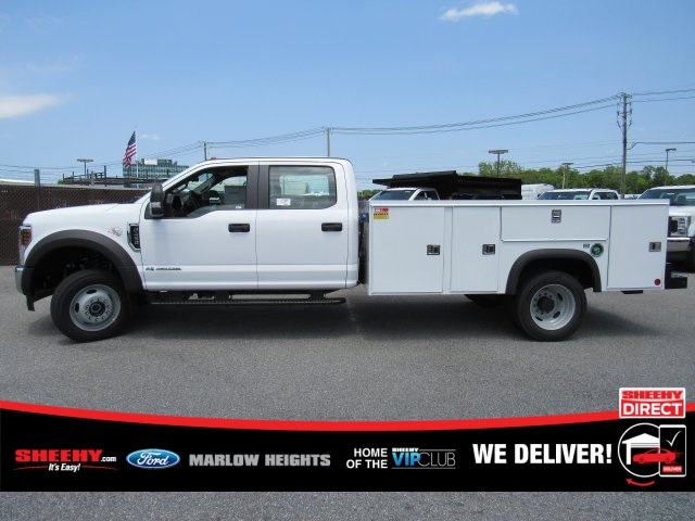 2019 F-450 Crew Cab DRW 4x4,  Monroe MSS II Service Body #BE60694 - photo 7