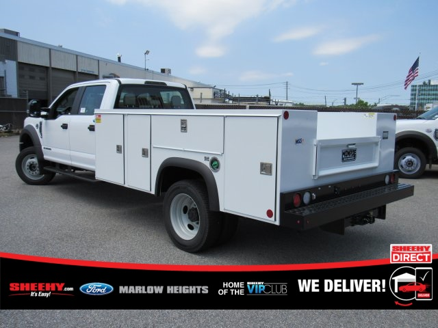 2019 Ford F-450 Crew Cab DRW 4x4, Monroe Service Body #BE60694 - photo 1