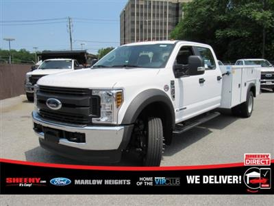 2019 F-450 Crew Cab DRW 4x4,  Monroe MSS II Service Body #BE60694 - photo 1