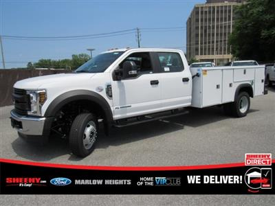 2019 F-450 Crew Cab DRW 4x4,  Monroe MSS II Service Body #BE60694 - photo 6