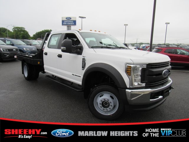 2019 F-450 Crew Cab DRW 4x4,  Hillsboro GII Steel Platform Body #BE60697 - photo 1