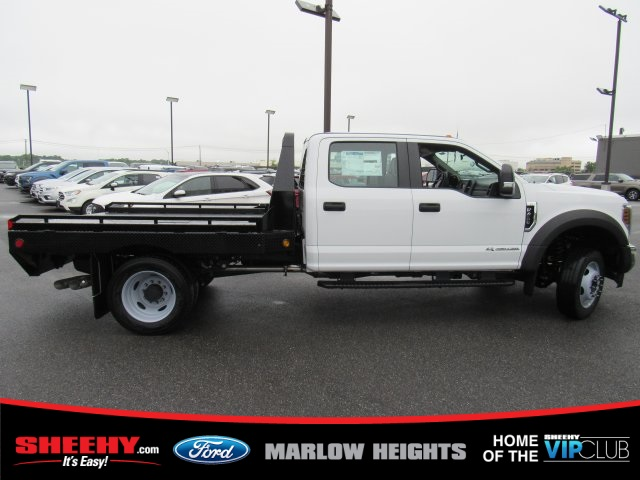 2019 F-450 Crew Cab DRW 4x4,  Hillsboro GII Steel Platform Body #BE60697 - photo 10