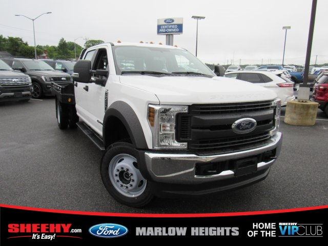 2019 F-450 Crew Cab DRW 4x4,  Hillsboro GII Steel Platform Body #BE60697 - photo 3