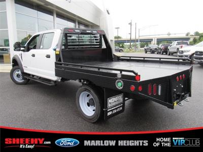 2019 F-450 Crew Cab DRW 4x4,  Hillsboro GII Steel Platform Body #BE60697 - photo 8