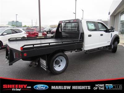 2019 F-450 Crew Cab DRW 4x4,  Hillsboro GII Steel Platform Body #BE60697 - photo 2
