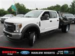 2019 F-450 Crew Cab DRW 4x4,  Hillsboro GII Steel Platform Body #BE60697 - photo 6