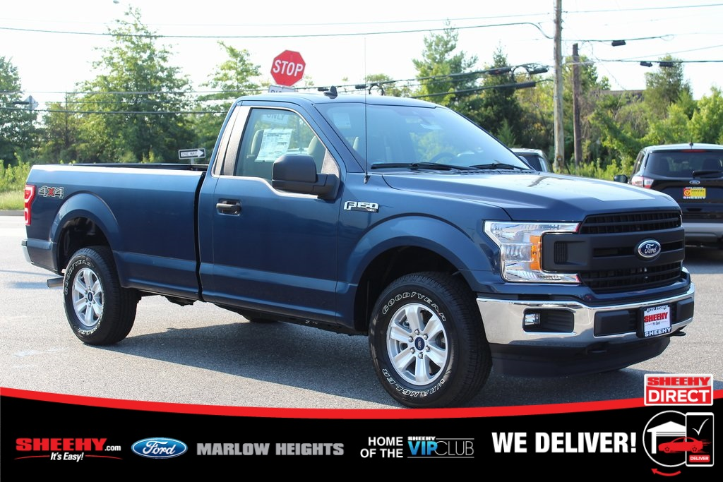 2020 Ford F-150 Regular Cab 4x4, Pickup #BE77894 - photo 1