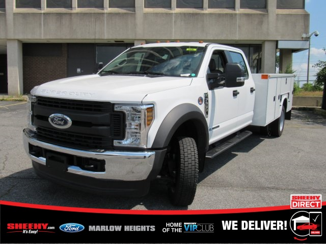 2019 F-450 Crew Cab DRW 4x4,  Knapheide Standard Service Body #BE93183 - photo 5