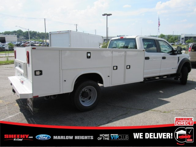 2019 Ford F-450 Crew Cab DRW 4x4, Knapheide Service Body #BE93183 - photo 1