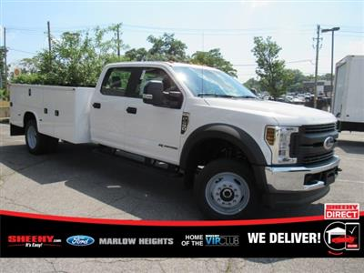 2019 F-450 Crew Cab DRW 4x4,  Knapheide Standard Service Body #BE93183 - photo 1