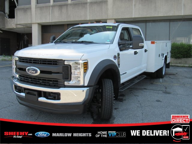 2019 F-550 Crew Cab DRW 4x4,  Knapheide Standard Service Body #BE93186 - photo 5