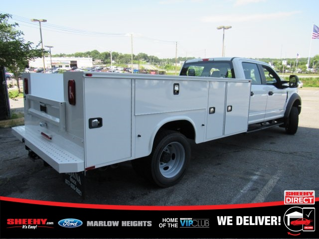 2019 Ford F-550 Crew Cab DRW 4x4, Knapheide Service Body #BE93186 - photo 1