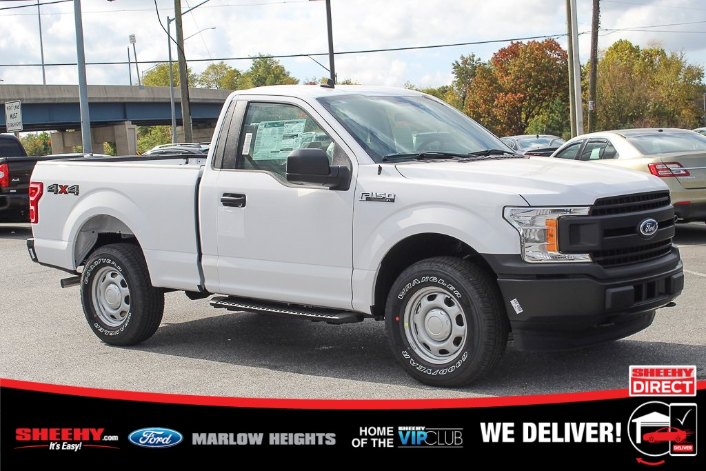 2020 Ford F-150 Regular Cab 4x4, Pickup #BF56975 - photo 1