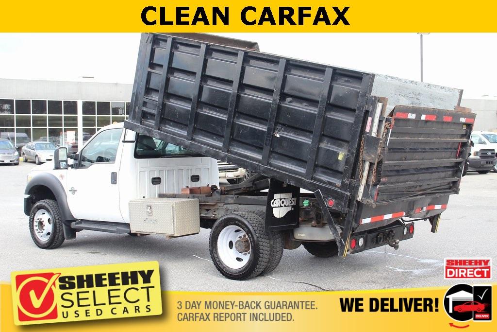 2011 Ford F-550 Regular Cab DRW 4x2, Landscape Dump #BG80404B - photo 3