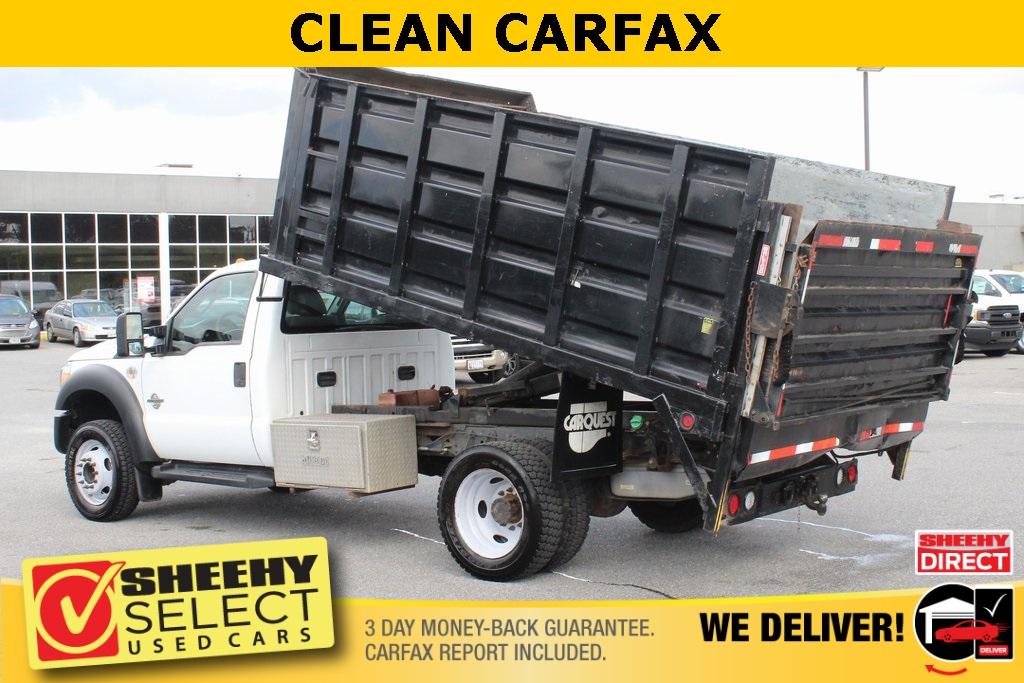 2011 Ford F-550 Regular Cab DRW 4x2, Landscape Dump #BG80404B - photo 5