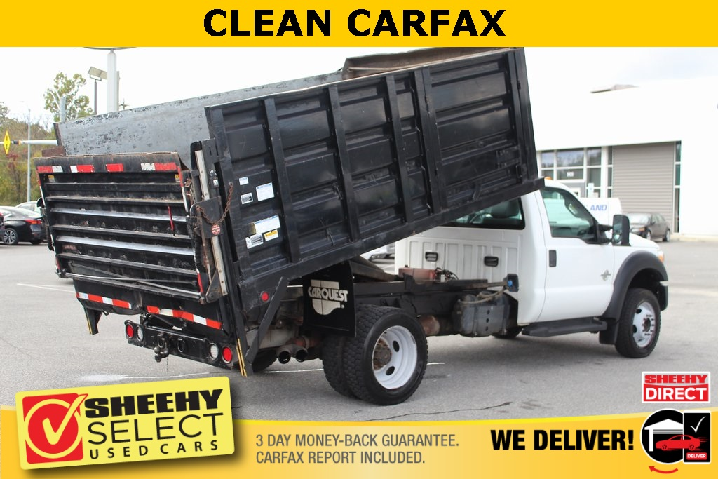 2011 Ford F-550 Regular Cab DRW 4x2, Landscape Dump #BG80404B - photo 2