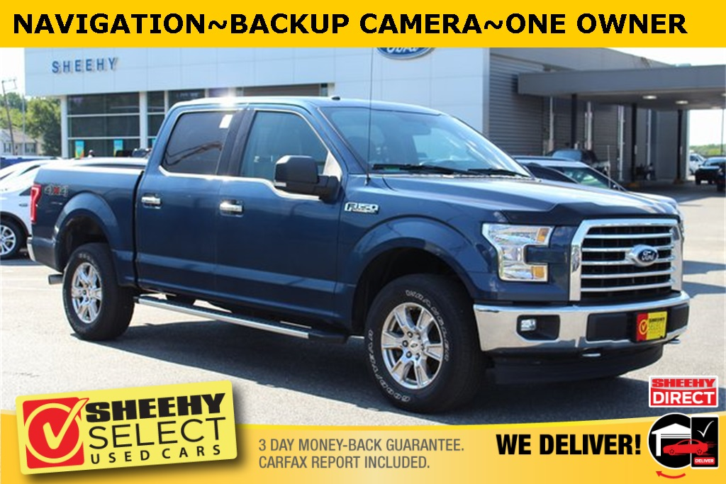 2017 Ford F-150 SuperCrew Cab 4x4, Pickup #BP9911 - photo 1
