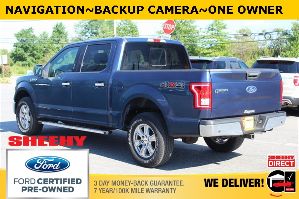 2017 Ford F-150 SuperCrew Cab 4x4, Pickup #BP9911 - photo 4