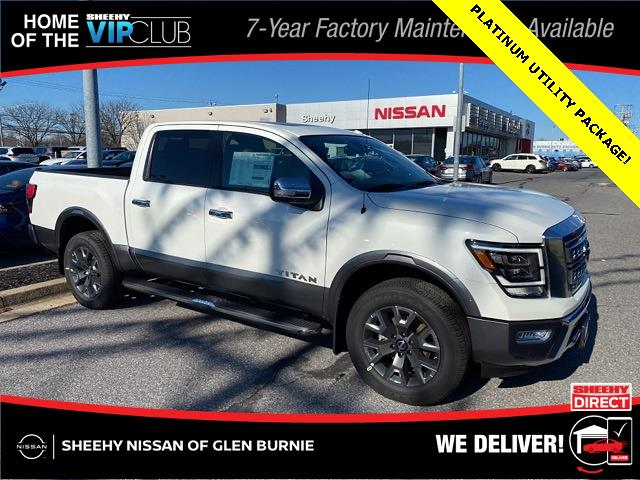 2021 Nissan Titan 4x4, Pickup #E510037 - photo 1