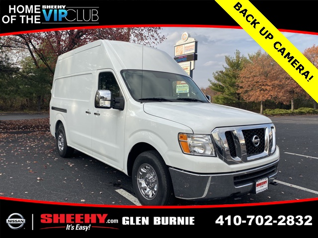 2019 Nissan NV3500 High Roof 4x2, Empty Cargo Van #E801949 - photo 1