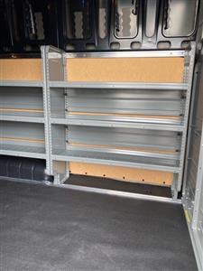 2020 Nissan NV2500 High Roof 4x2, Adrian Steel Upfitted Cargo Van #E806886 - photo 16