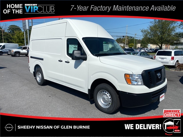 2020 Nissan NV2500 High Roof 4x2, Empty Cargo Van #E810526 - photo 1