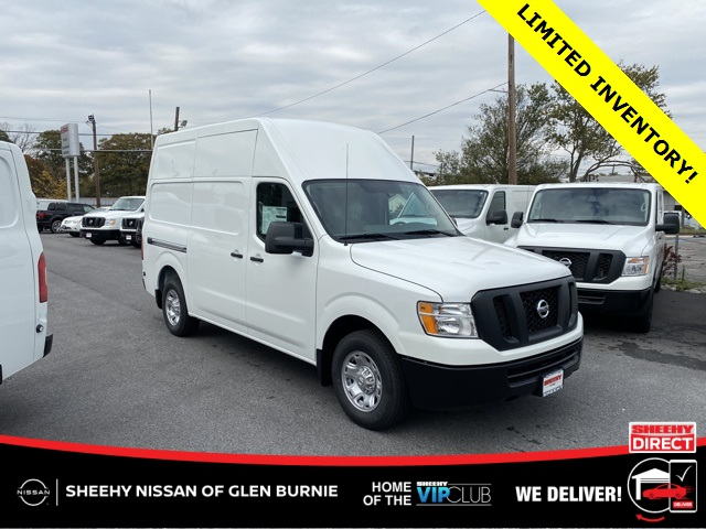 2020 Nissan NV2500 High Roof 4x2, Empty Cargo Van #E811635 - photo 1